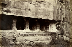 Badami. The largest cave. [Cave III.]